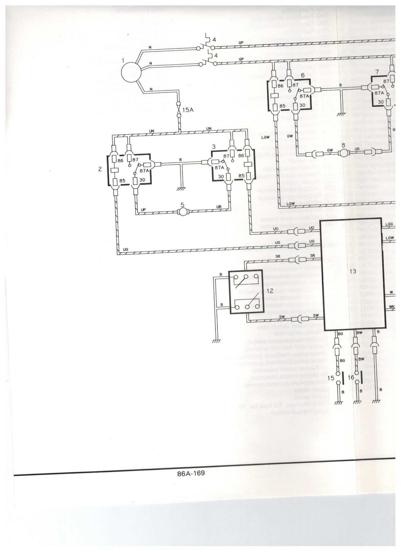 Ford Brake Switch Diagram