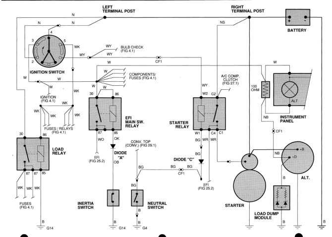 1996 jaguar xjs wiring diagram wiring diagram for 1998