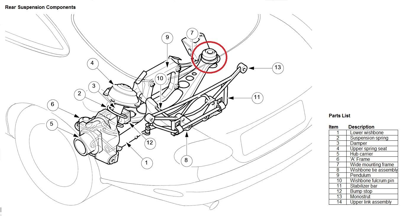 hight resolution of xkr rear knocking xk8 rear suspension jpg