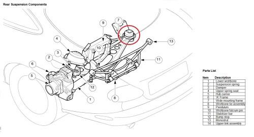 small resolution of xkr rear knocking xk8 rear suspension jpg