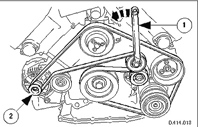 Service manual [2001 Jaguar Xj Series Serpentine Belt