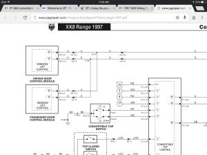 97 Xk8 convertable top switch wiring  Jaguar Forums