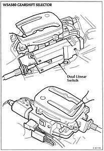 Transmission Jaguar XKR 2001 Neutral Safety Switch