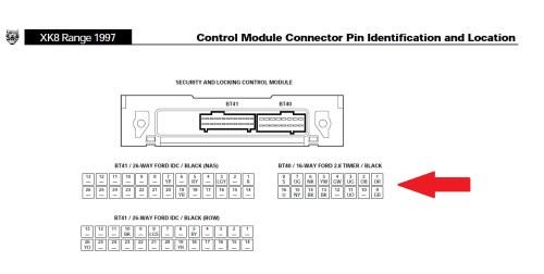 small resolution of xk8 security module wiring jaguar forums jaguar enthusiasts forumxk8 security module wiring slcm 1997 jpg