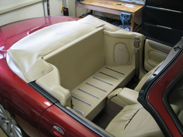 Rear Seat Delete Woodwork Finished