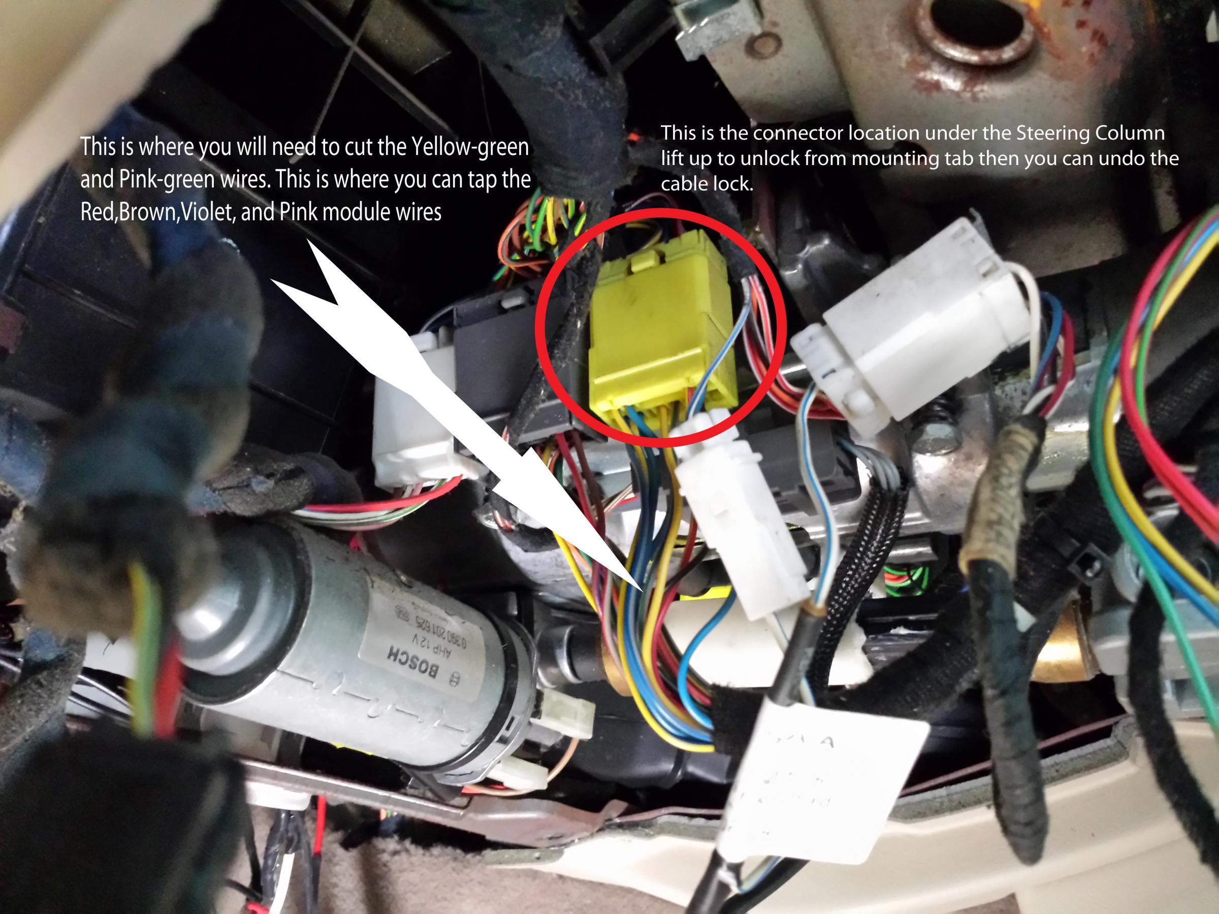 Pontiac Gto Wiring Diagram Installing One Touch Turn Signal Module Jaguar Forums