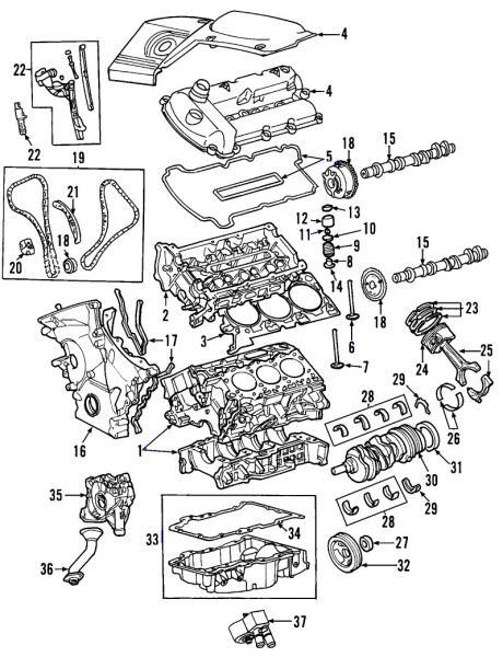 diagram of the jaguar x type 3 0 engine