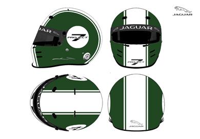 Jaguar helmet