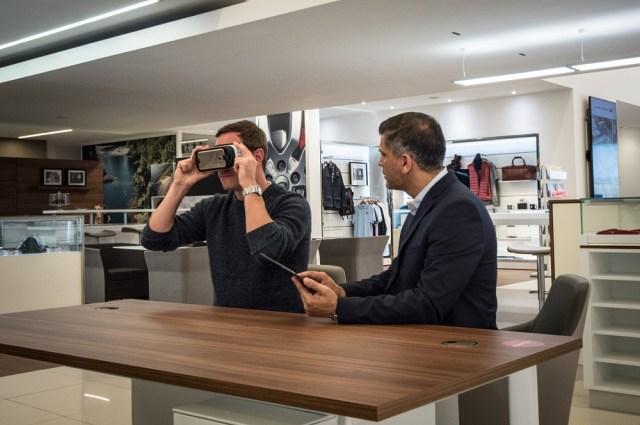 jaguarforums.com virtual reality VR dealership experience