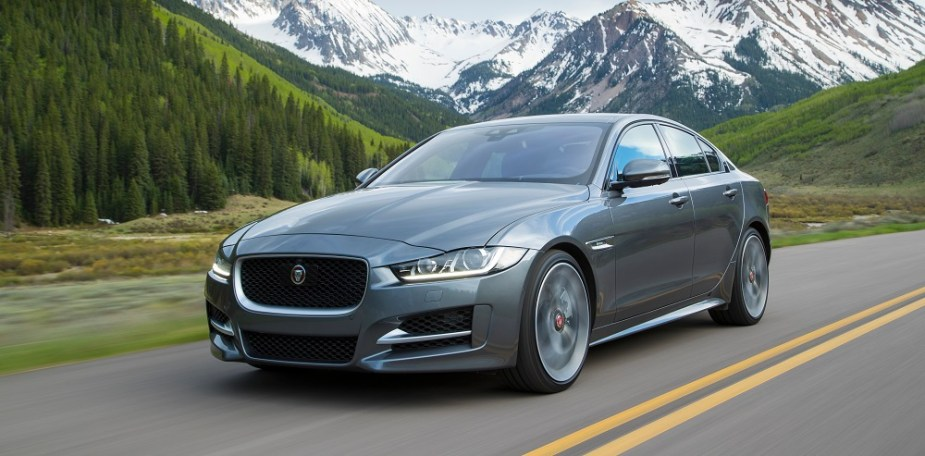 jaguarforums.com jaguar XE supercharged v6 0-60 test MPGomatic youtube video