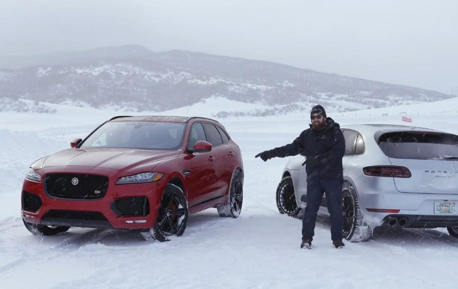 jaguarforums.com Jaguar F-Pace F Pace S vs. Porsche Macan GTS or comparison video