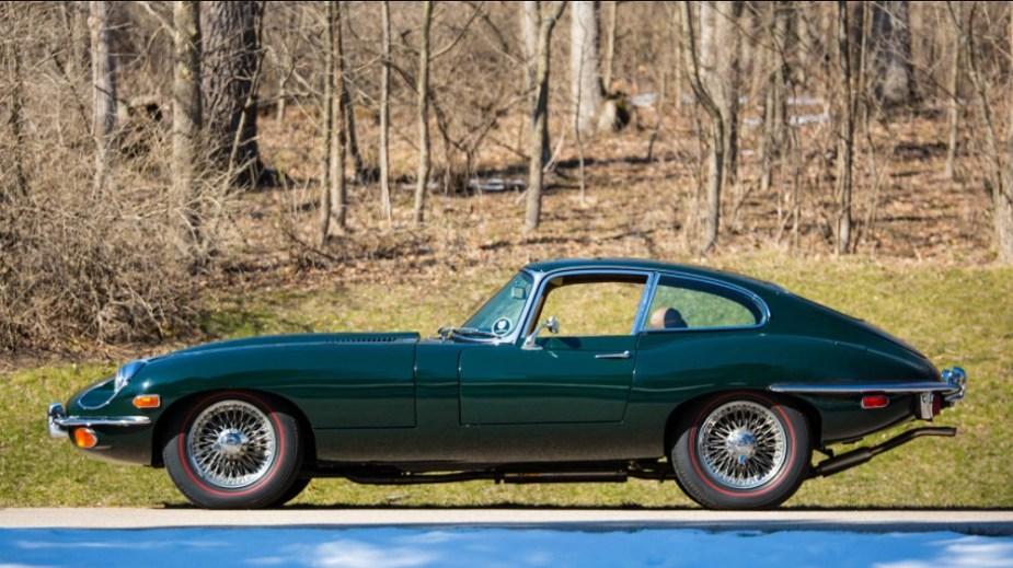 jaguarforums.com Jaguar Classic History Historic XKE E-Type Series II Mark One MK. 1 XKE120 Fixed Head Coupe Mecum auction Indy  Indianapolis