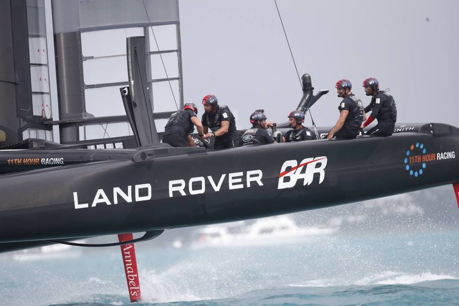 Jaguarforums.com Jaguar Land Rover BAR Ben Ainslie Racing 2017 2018 America's Cup Race