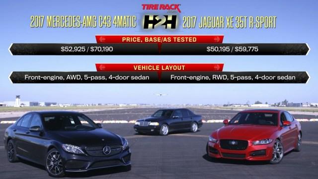 jaguarforums.com jaguar xe35t vs. mercedes-benz amg C43