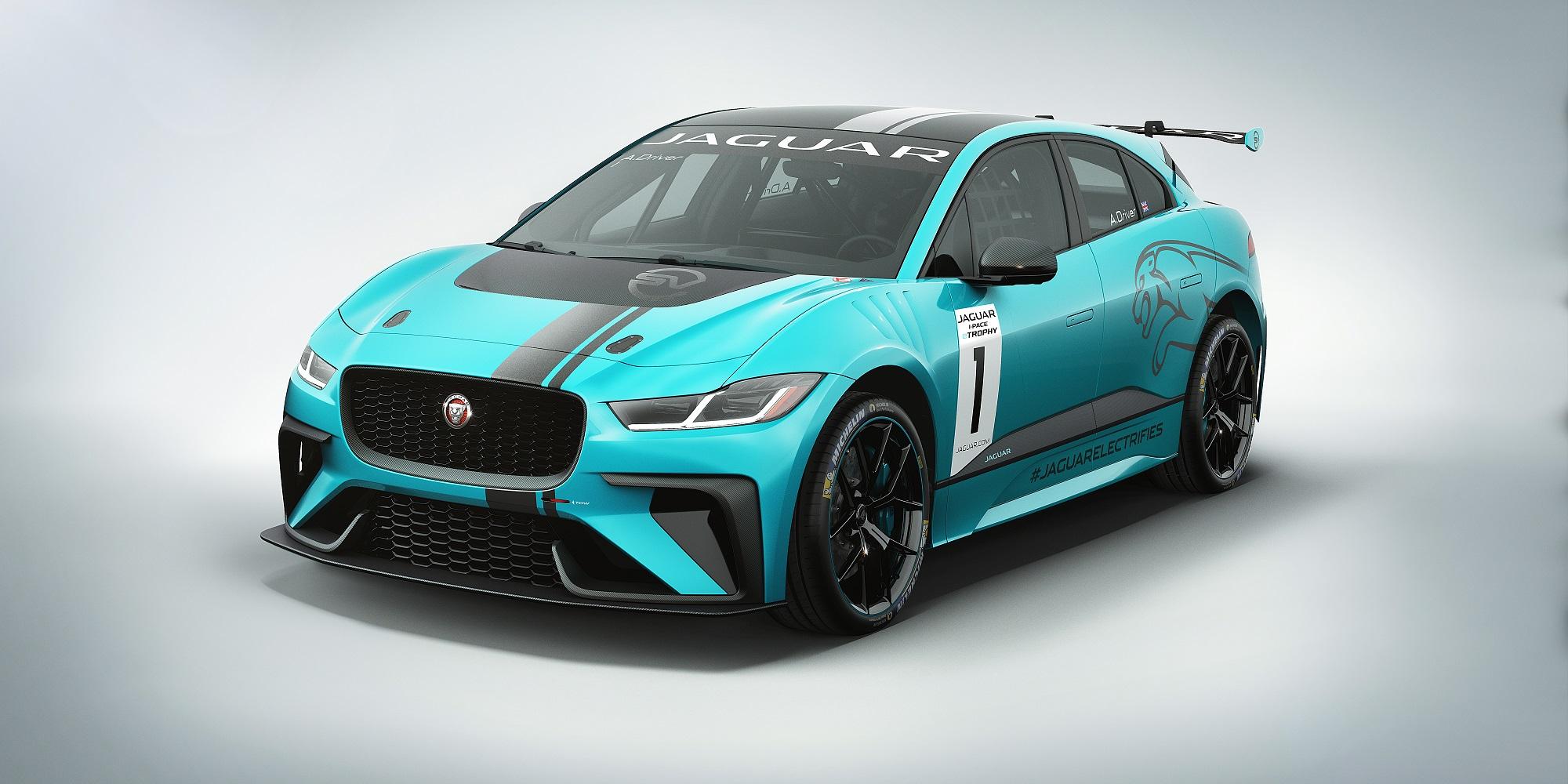jaguarforums.com Jaguar I-PACE eTROPHY Race Series FIA Formula E Electirc Vehicles Racing Motorsport