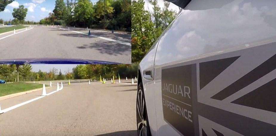 Jaguarforums.com 2018 Jaguar XE S RWD vs. AWD Autocross Test Comparison