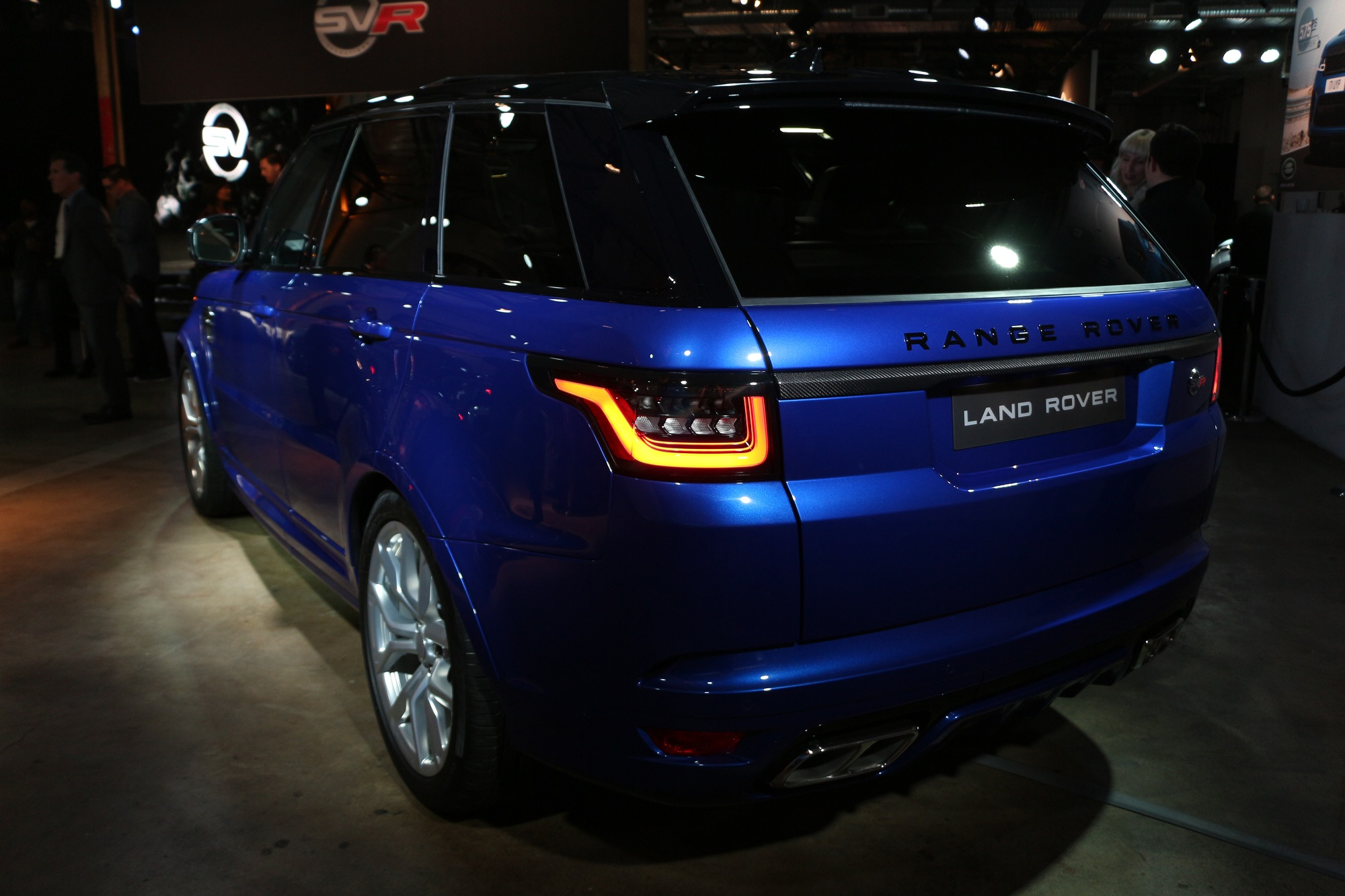 2018 Land Rover Range Rover Sport SVR at the Los Angeles Auto Show