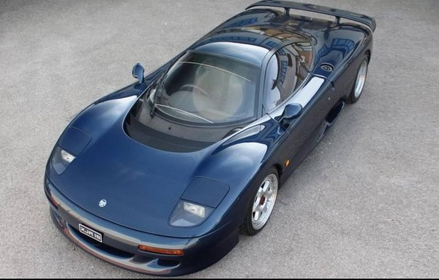 1991 XJR-15 High Angle