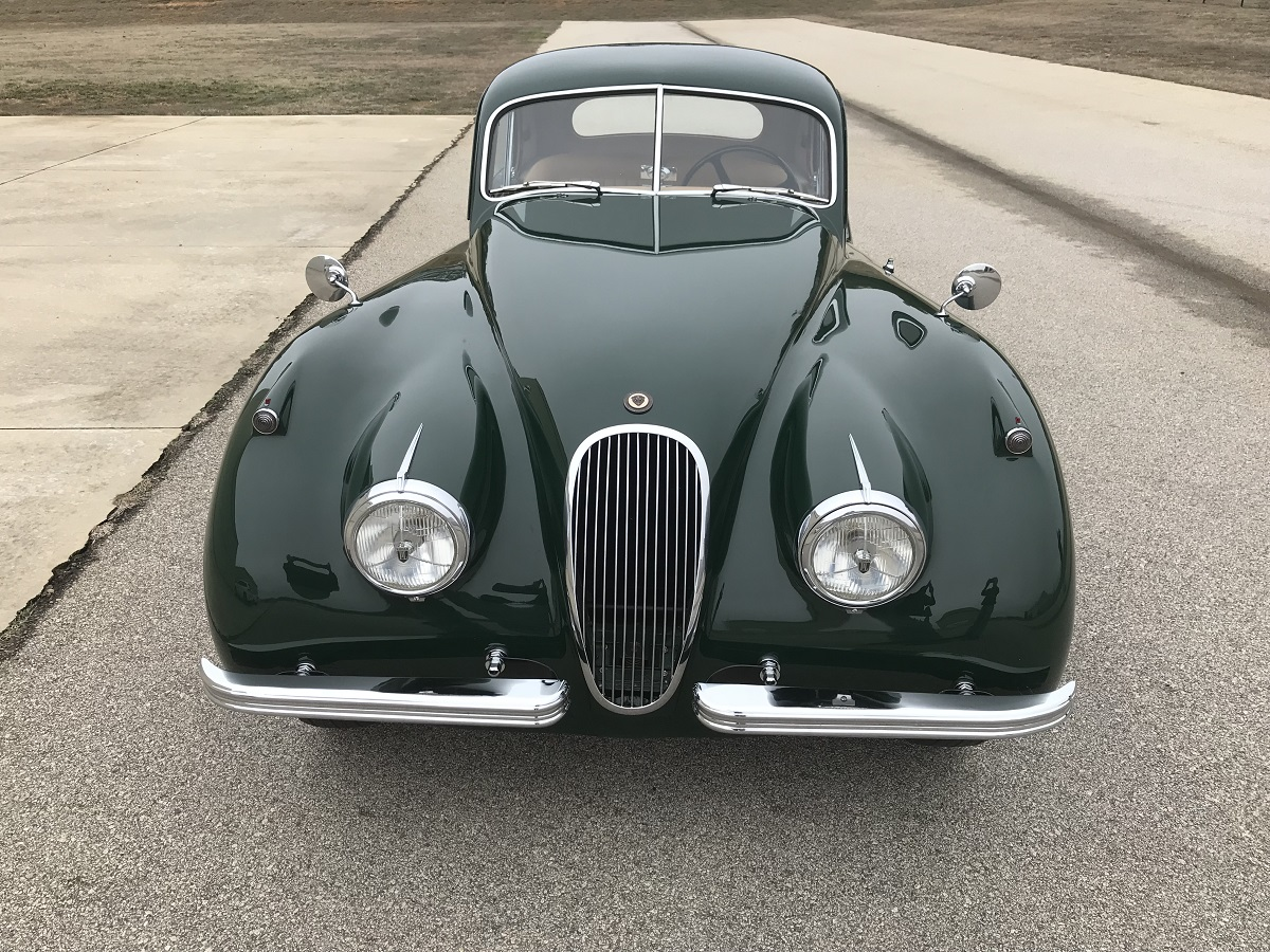 Jaguar XK120 SE Fixed Head Coupé