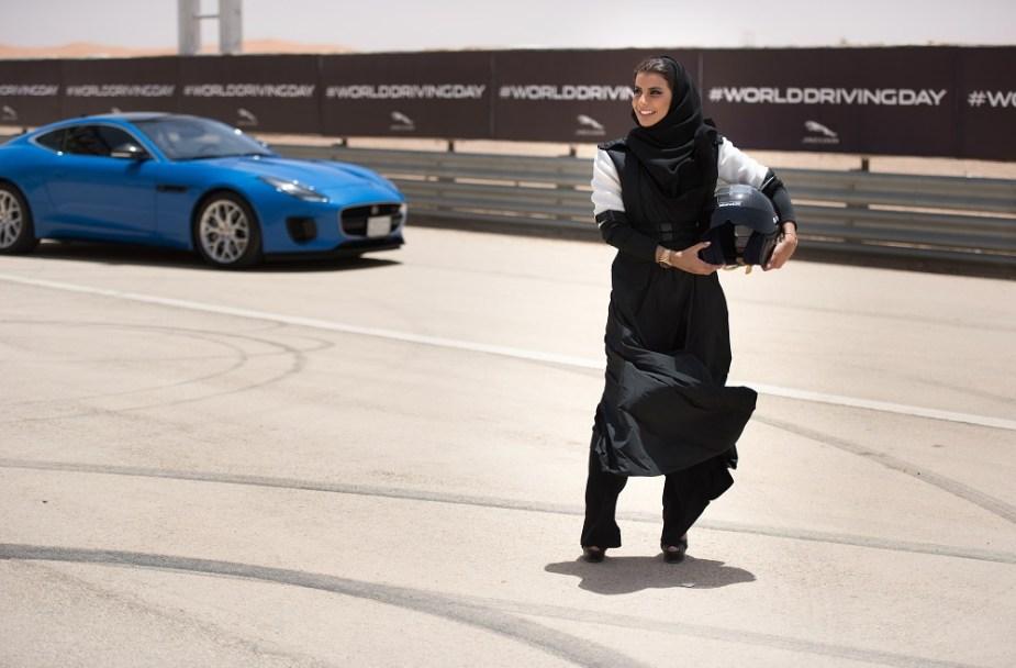 Jaguarforums.com World Driving Day Saudi Arabia Driving Ban Jaguar F-TYPE