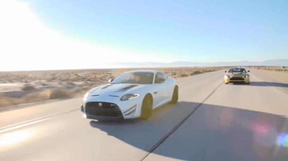 2014 Jaguar XKR-S GT vs. 2015 Aston Martin V12 Vantage S