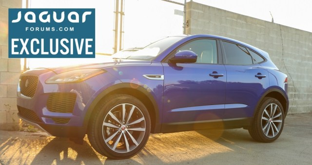 Jaguarforums.com 2018 2019 Jaguar E-PACE SE P250 AWD Review Drive Opinion Interior Exterior