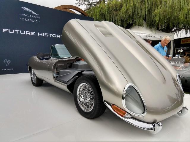 Jaguar E-Type Zero Quail Pebble Beach Concours d'Elegance Jaguarforums.com