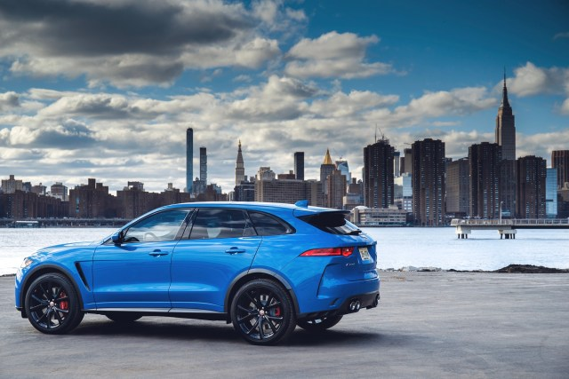 Jaguar F-PACE SUV 2019 News Updates Changes Options Colors Interior MPG Price Jaguarforums.com