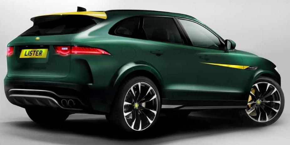 Lister LFP Jaguar F-PACE SVR 200 MPH