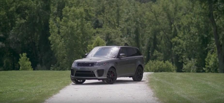 Range Rover Sport SVR Review Road and Track Jaguarforums.com