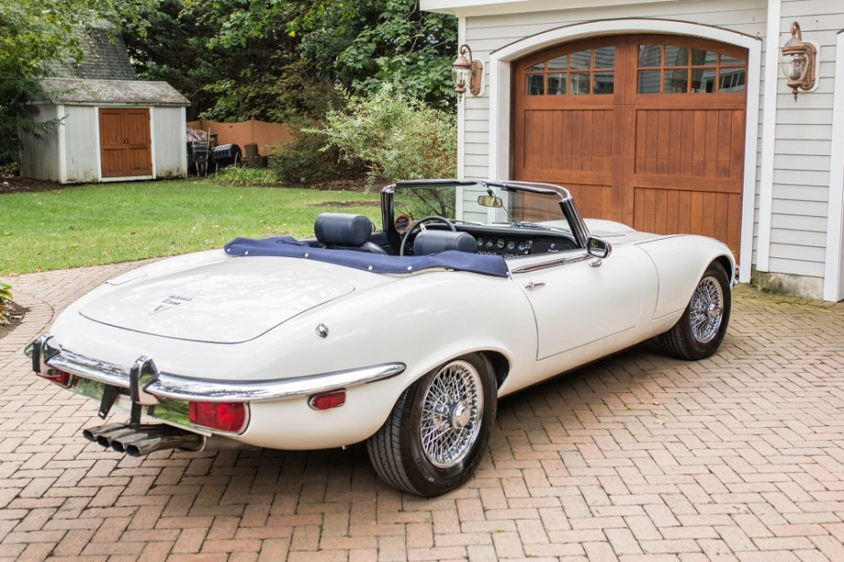 1974 Jaguar XKE E-Type Series III Jaguarforums.com