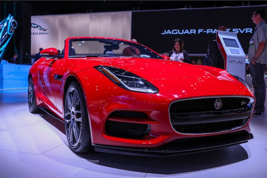 Jaguar Land Rover Highlights From the L.A. Auto Show