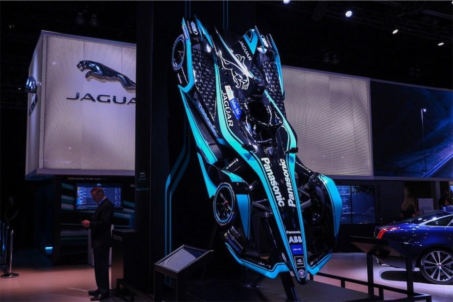 Jaguar I-Type Race Car.
