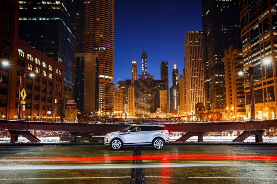 2020 Range Rover Evoque Chicago Auto Show Debut