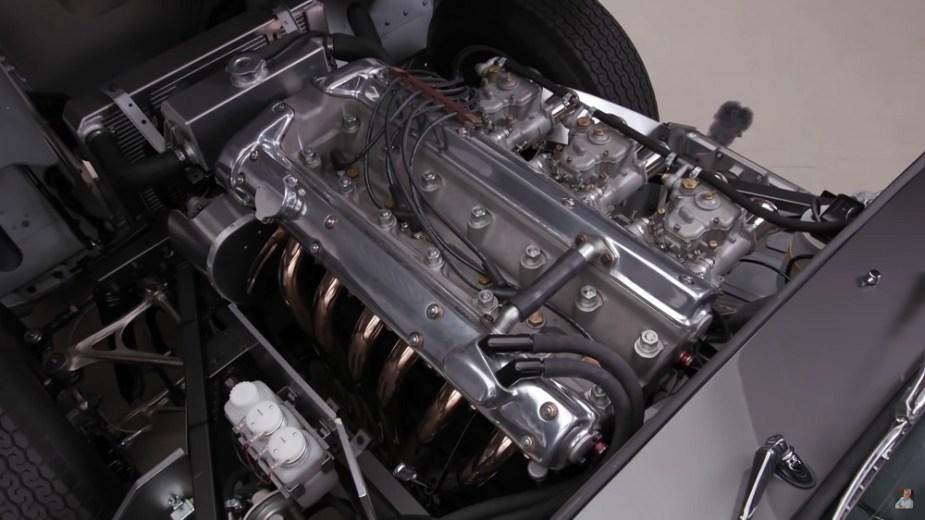 1963 Jaguar E-Type engine