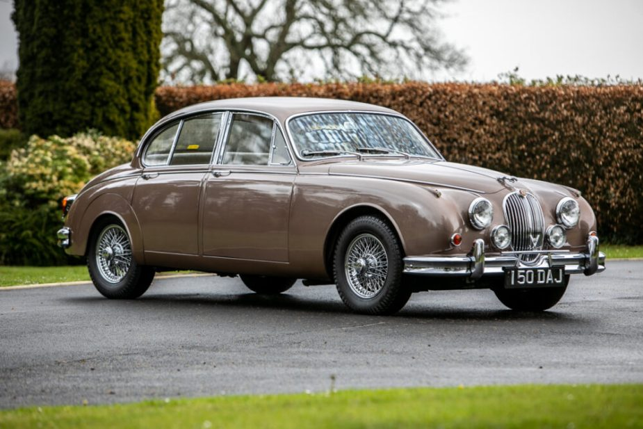 1962 Jaguar Mk2 3.8 Manual OD