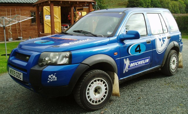 Rally Land Rover Freelander header