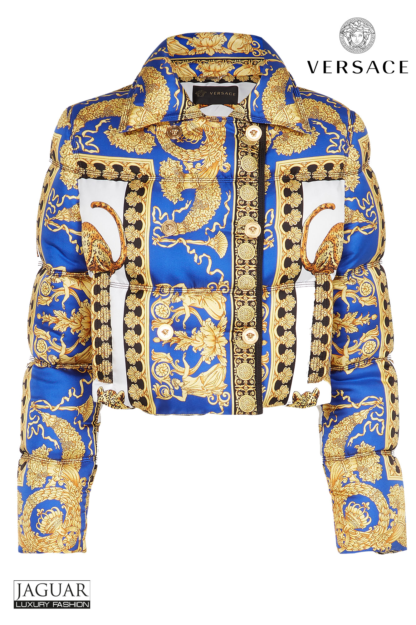 The Prints That Go Back To The Home Of Versace Jaguar Mode