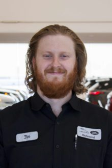 TIM WOODHOUSE - LAND ROVER TECHNICIAN