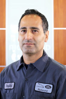 FARSHID TABARI - JAGUAR LAND ROVER TECHNICIAN