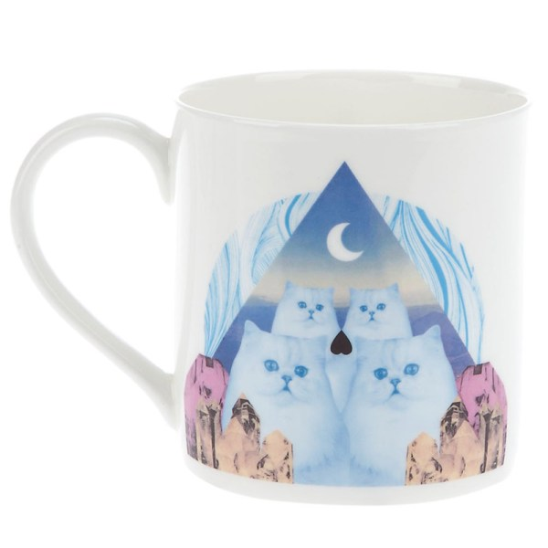 CHRISSIE ABBOTT CAT MUG IN FULL COLOUR