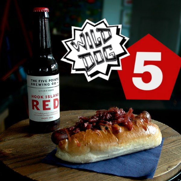 TONIGHT! Free Beer with WILD DOG v. FIVE POINT