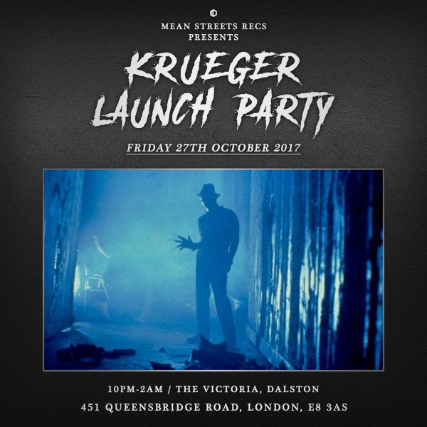 "Mean Streets Records Presents "" Krueger"" Launch Party"