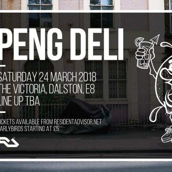 PENG DELI – London Launch / Live Showcase
