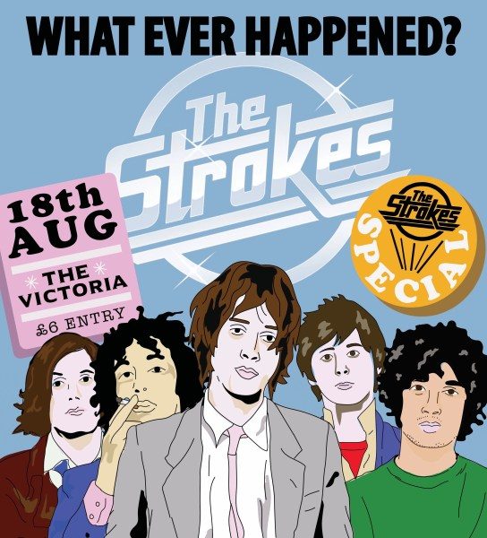 Dalston Indie Disco – The Strokes special!