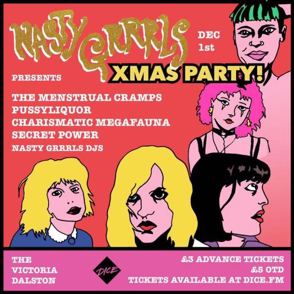 Nasty Grrrls Xmas Party