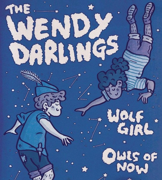 For The Sake Of Tapes presents The Wendy Darlings, Wolf Girl, Owls of No