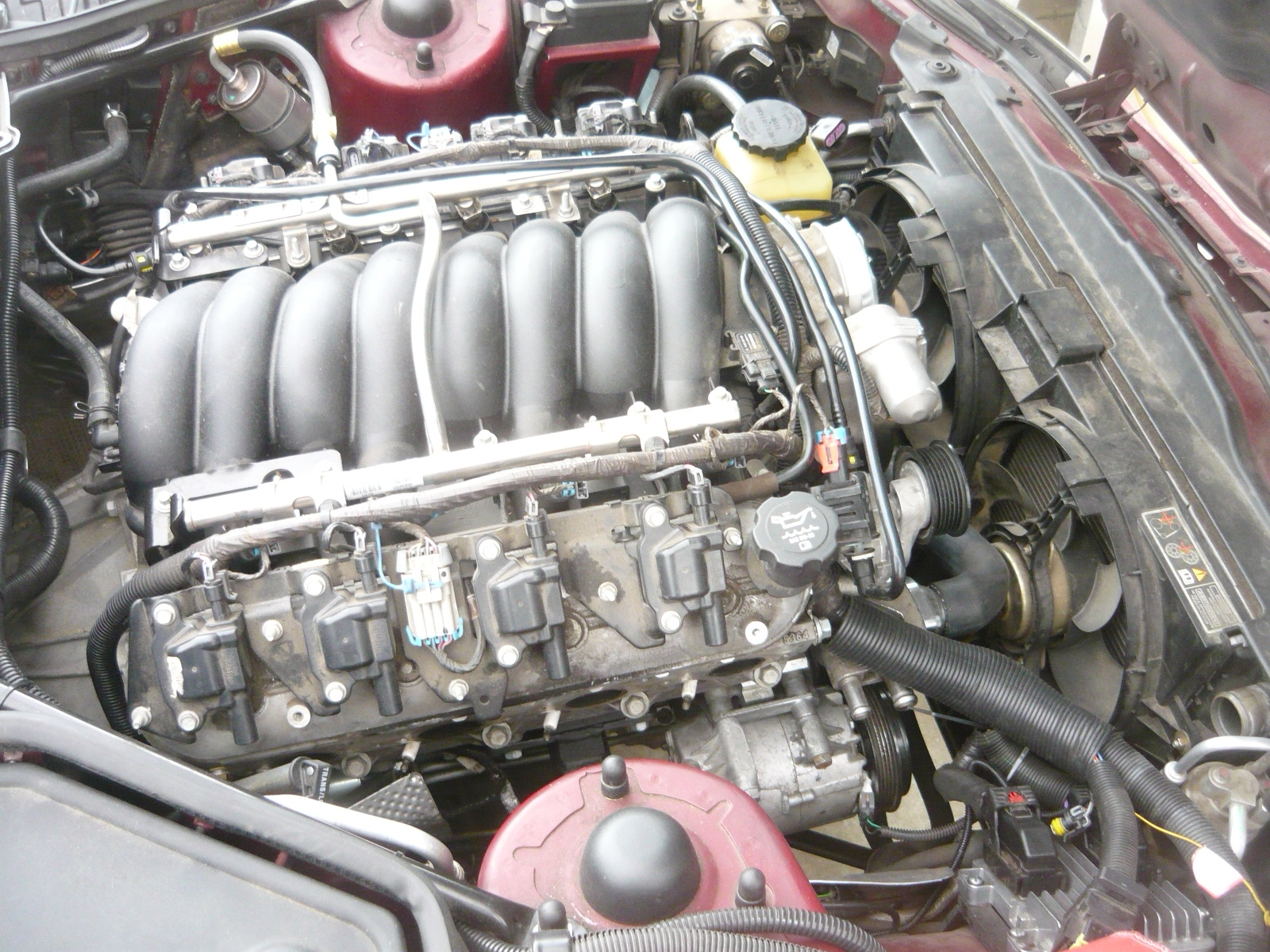 hight resolution of 1997 xk8 convertible with 2009 pontiac g8 l76 and 6l80e 6 speed automatic acquired 2017 and conversion in process