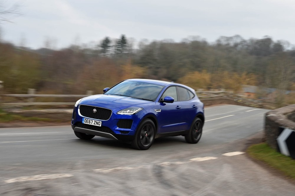 New cars hold up sales for Jaguar Land Rover