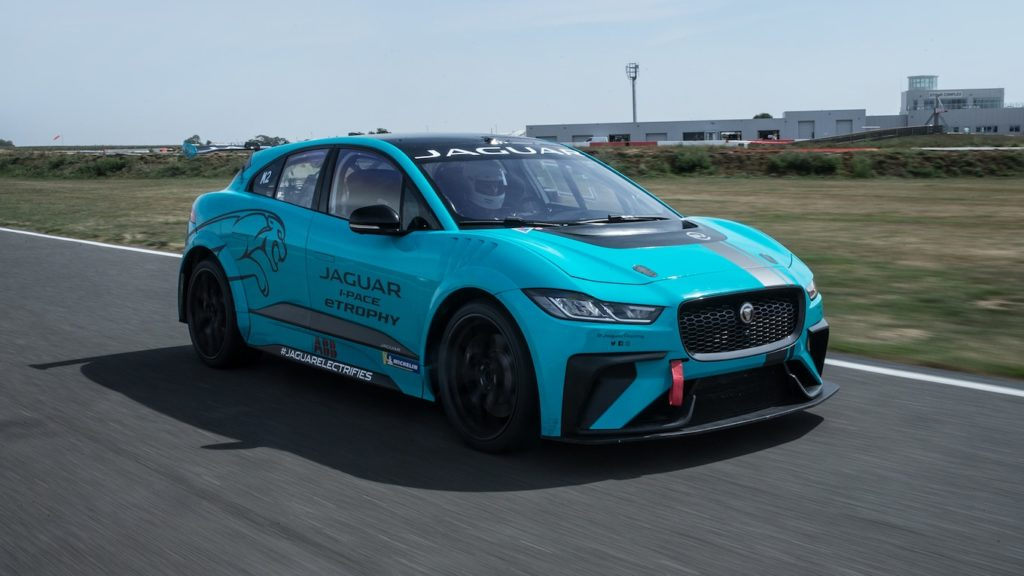 2019 Jaguar I-PACE eTROPHY electric race car review